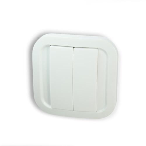 Nodon cws-2-1-01 mur-Interrupteur Double//Simple-EnOcean-batterielos//sans fil
