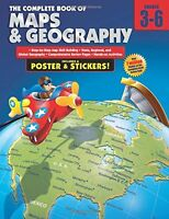 The Complete Book Of Maps And Geography, Grades 3 - 6 By , (paperback), American on Sale
