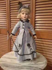 BRASS KEY Victorian Rose Genuine Porcelain Doll