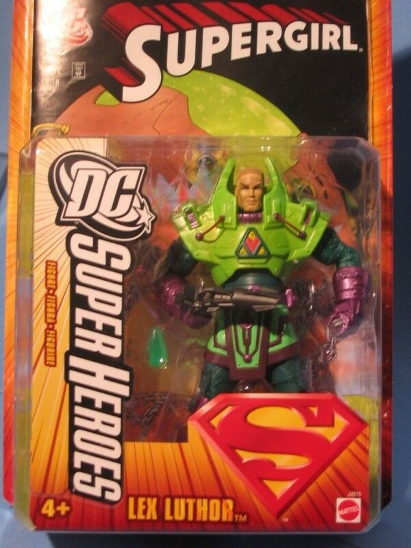 DC SUPERHEROES SUPERMAN LEX LUTHOR LUTHOR LUTHOR ACTION FIGURE NM  dac5e6