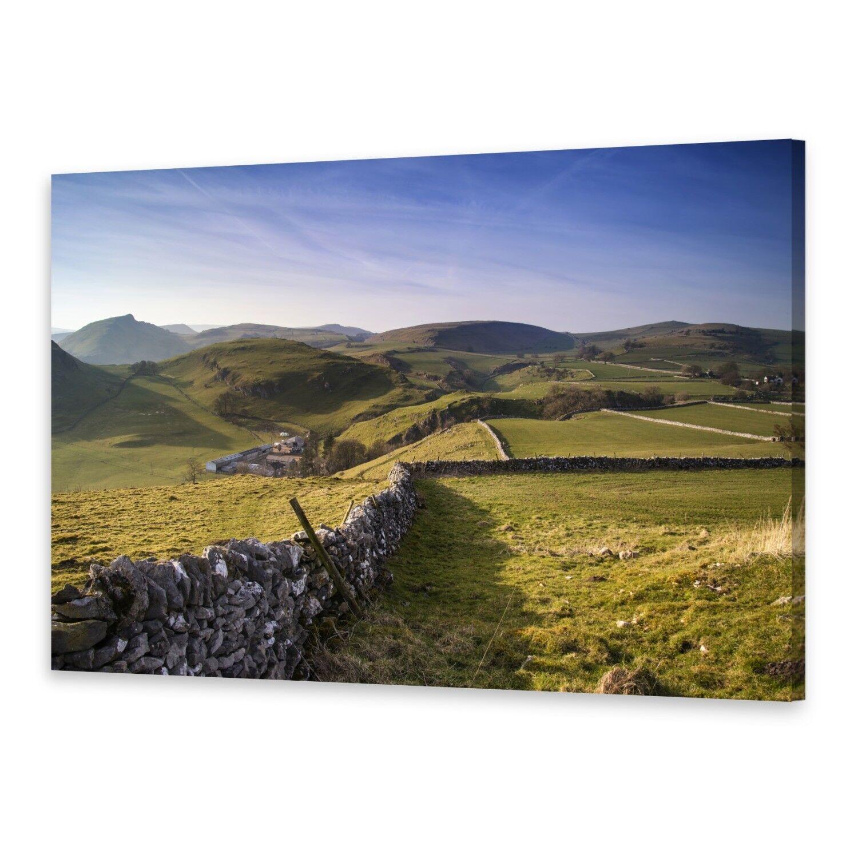 - Tela Immagini Immagine Parete stampa su canvas stampa d'arte Chrome Hill