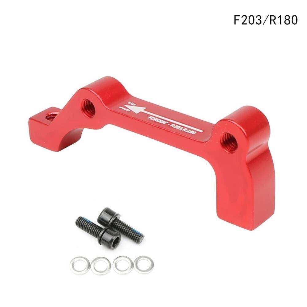 CONTEC Brake Caliper Adapter CDA is 180mm Front 160mm rear approx 40g 4250311320151