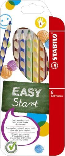 Farbstifte Stabilo Easycolors 6-er oder 12-er Etui für Linkshänder// Rechtshänder