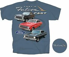 Custom Car Art T-shirt inspired on 1966-70 Ford falcon Sports Coupe Futura 302