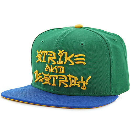 c3b9585d8d5ae2 ... uk nike sb strike and destroy snapback hat green blue yellow ebay 637c4  a79e0. tailored design new ...