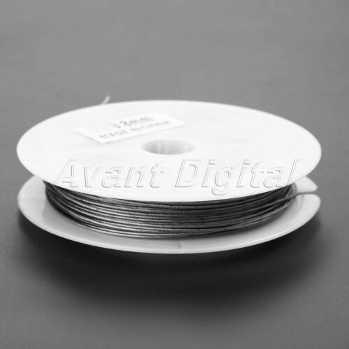 10M 1*7 Strands Stainless Steel Outdoor Fishing Braided Wire line 0.3mm-1mm