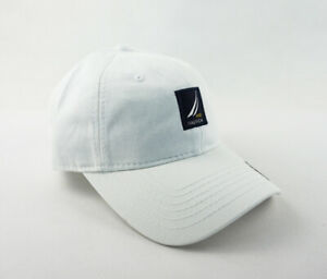 d83b0dabb5ebe Nautica Hat Golf Ball Baseball Cap Adjustable New White Men s Unisex ...