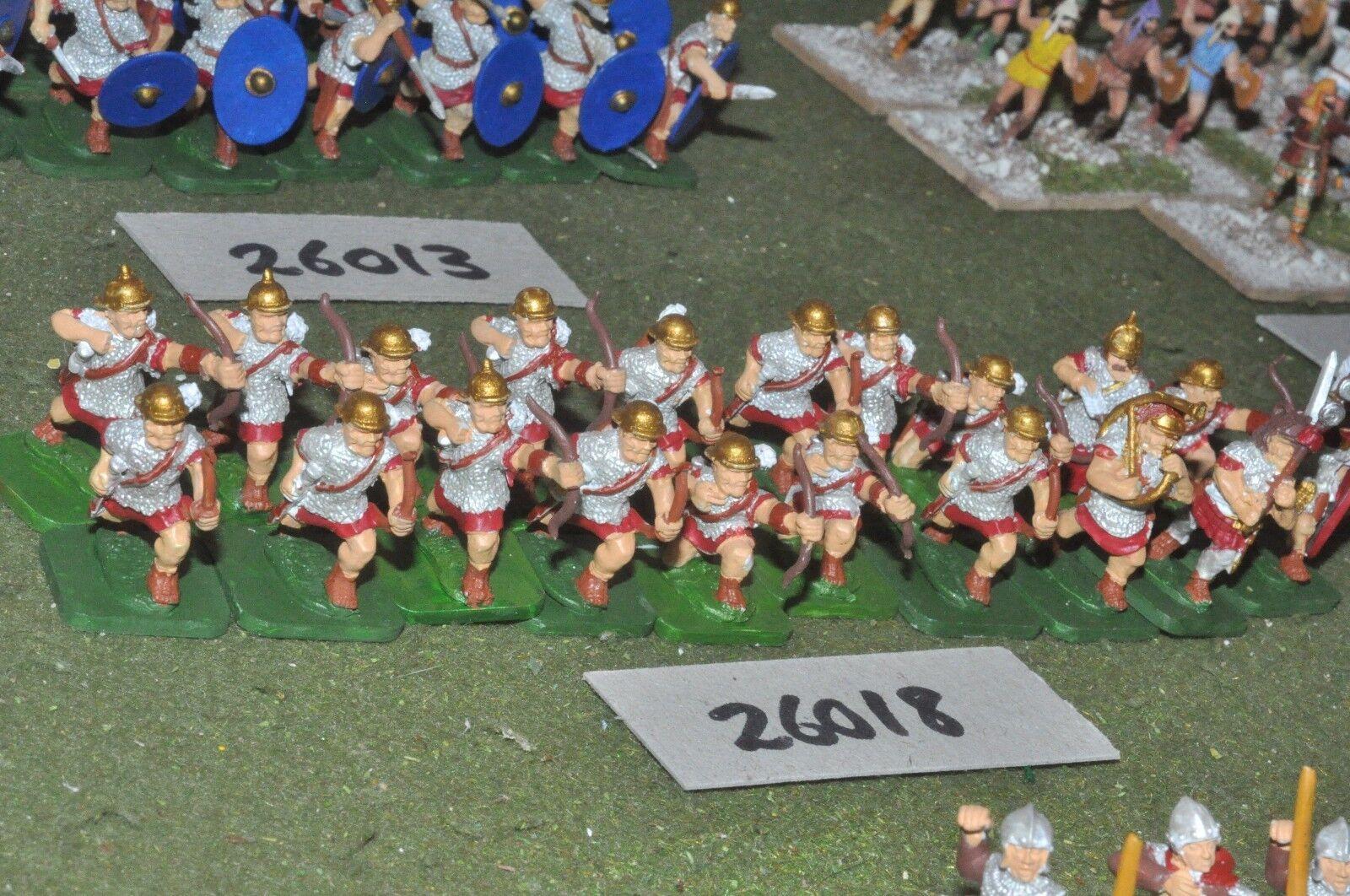 25mm época Romana Romana-arqueros 20 figuras-INF (26018)