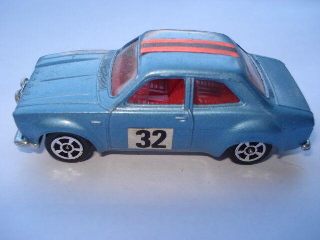 SCARCE ORIGINAL 1971-4 No 63 CORGI JUNIORS WHIZWHEELS FORD ESCORT RALLY CAR No32