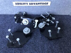 Bruno-4-Buckle-Docking-Receiver-Devices-for-Jazzy-1100-or-1120-Power-Wheelchair