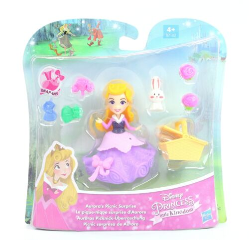DISNEY PRINCESS doll AURORA/'s Picnic Surprise Little Kingdom playset toy NEW!