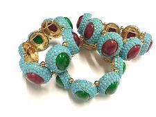 wholesale job lots mixed 10 bracelets Lady resins deisgn bracelets mixed colors