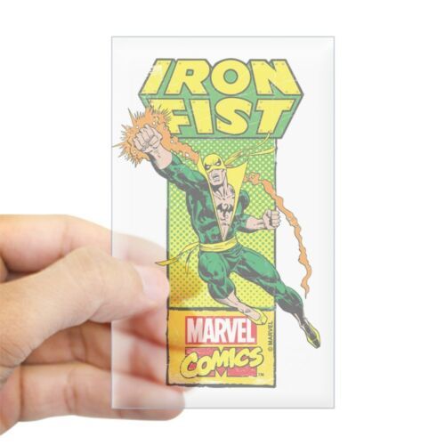 CafePress Iron Fist Masthead Rectangle Bumper Sticker Car Decal 1307707223