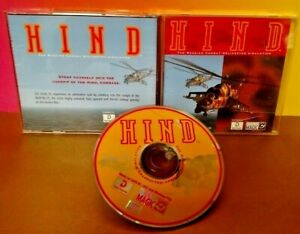 HIND RUSSIAN COMBAT HELICOPTER SIMULATION - Game CD ROM Tested