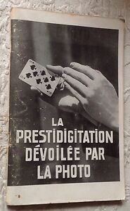 MAGIE-La-PRESTIDIGITATION-devoilee-par-la-photo-annees-50-RARE