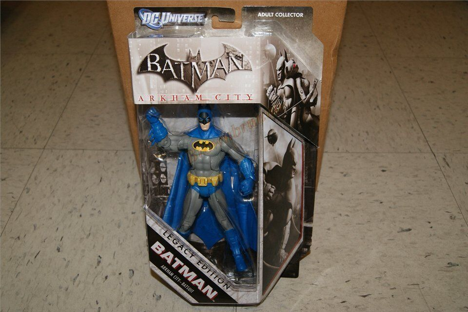 Batman Legacy Edition Exclusiv Arkham City Batsuit 17.8cm Actionfigur Dc