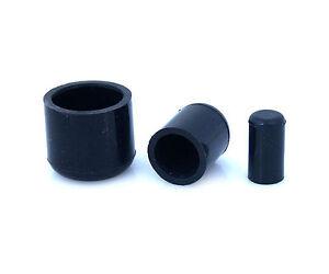 "6PCS 16mm 5//8/"" Black Silicone Blanking Cap Intake Hose End Bung Plug Silicon Cap"