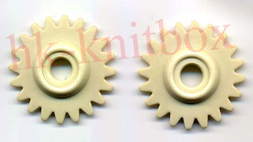 2pcs New Plastic Gear For Brother Knitting Machine Spare Parts Accessories