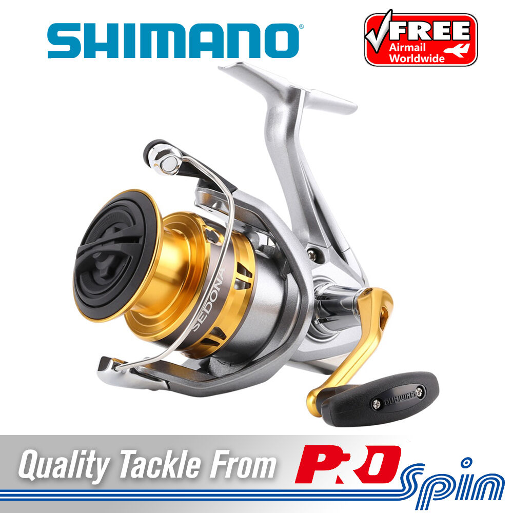 Shimano Sedona FI Spinning Reels -  2500 or 4000 Size Saltwater Fishing Reels  timeless classic