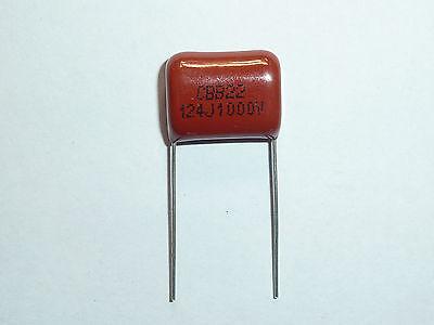 10PCS CBB 124J 400V CBB21 0.12UF 120NF P10 Metallized Film Capacitor