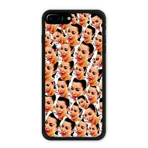 newest 4f37c aa485 Details about Kim Kardashian iPhone 7 / 7 Plus / 8 / 8 Plus Case Crying  Face Collage