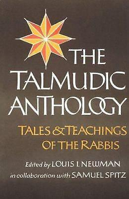 Talmudic Anthology Paperback Louis I. Newman