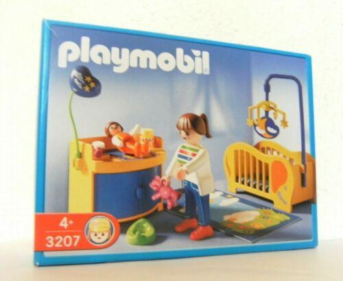 Playmobil Babyzimmer 3207 von 2002 Möbel Kinderzimmer Babybett Baby Schrank