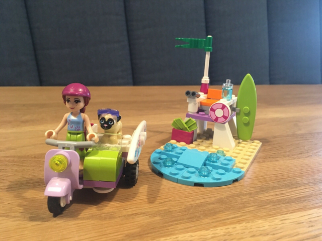 Lego Friends, 41306, Mias strandscooter