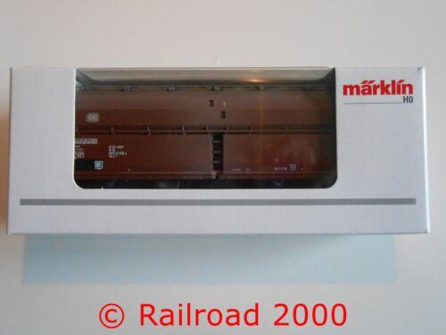 Märklin NUOVO 4626 stesso carrello scarico della DB con coperchio pieghevole tetto OVP