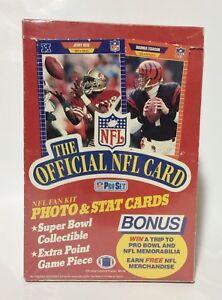 1989-Pro-Set-series-1-Premier-Football-card-box-Sealed-contains-36pks