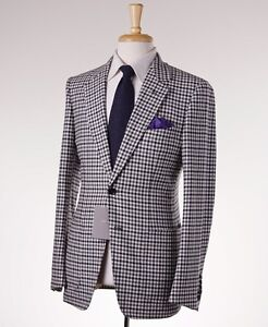 394d8378b00e NWT $5700 TOM FORD 'Buckley' Black-White Check Wool-Cashmere Suit ...