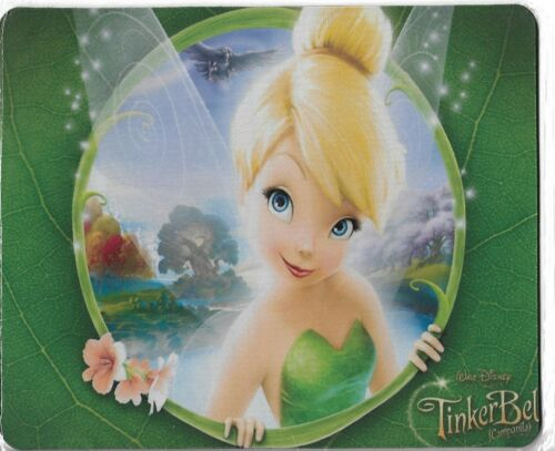 Fantasy Disney TINKERBELL Rectangle Mouse Pad For Computer PC Desk