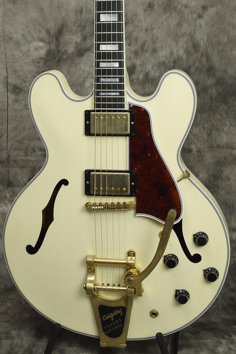 Gibson Memphis 2016 LTD Run ES-355 VOS Classic Weiß Bigsby rare EMS F S