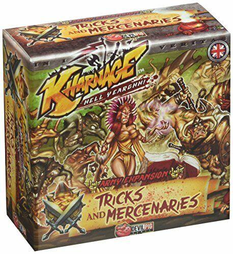 Tricks and Mercenaries Kharnage