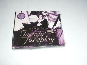 Janet-Jackson-Twenty-Foreplay-CD-Single-with-Poster-CD2-SEALED