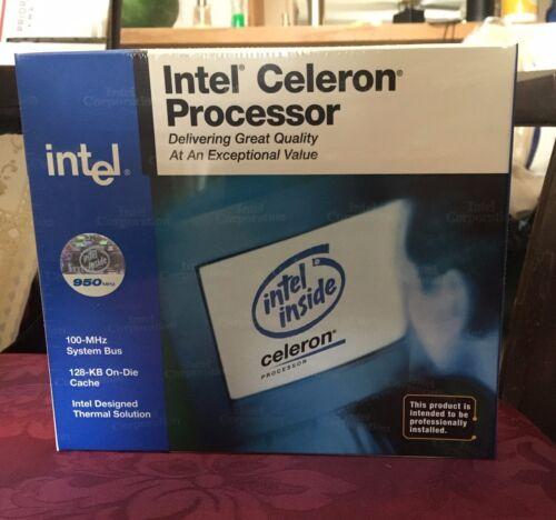 Intel® Celeron® Processor 950 MHz 370-Pin Package 100 MHz FSB 128K L2 Cache