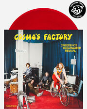 Creedence Clearwater Revival Cosmo's Factory LP Red Vinyl Newbury Comics