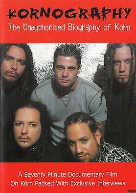 A7 BRAND NEW SEALED Kornography - The Unauthorized Biography Of Korn (DVD, 2004)