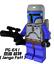 White-Boba-Fett-Mandalorian-Jango-Fett-Star-Wars-Series-Custom-Lego-Minifigures miniature 3