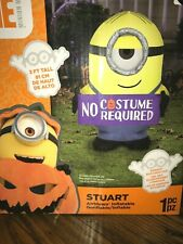 Gemmy 3ft Airblown Gone Batty Minion Halloween Inflatable For Sale Online Ebay