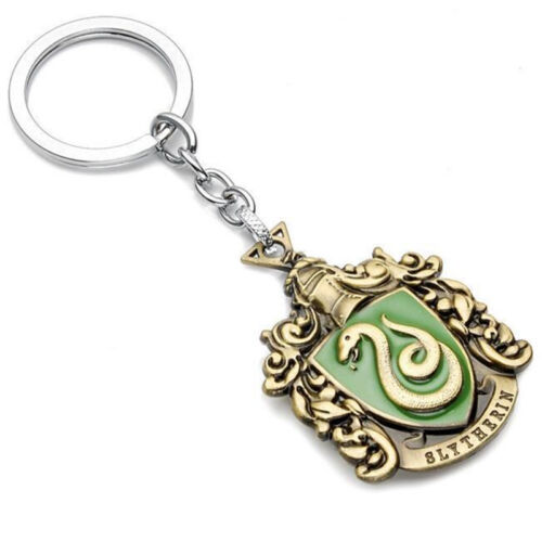 For Harry Potter Hogwarts Crest Small Keyring Metal badge Pendant Keychain Gift