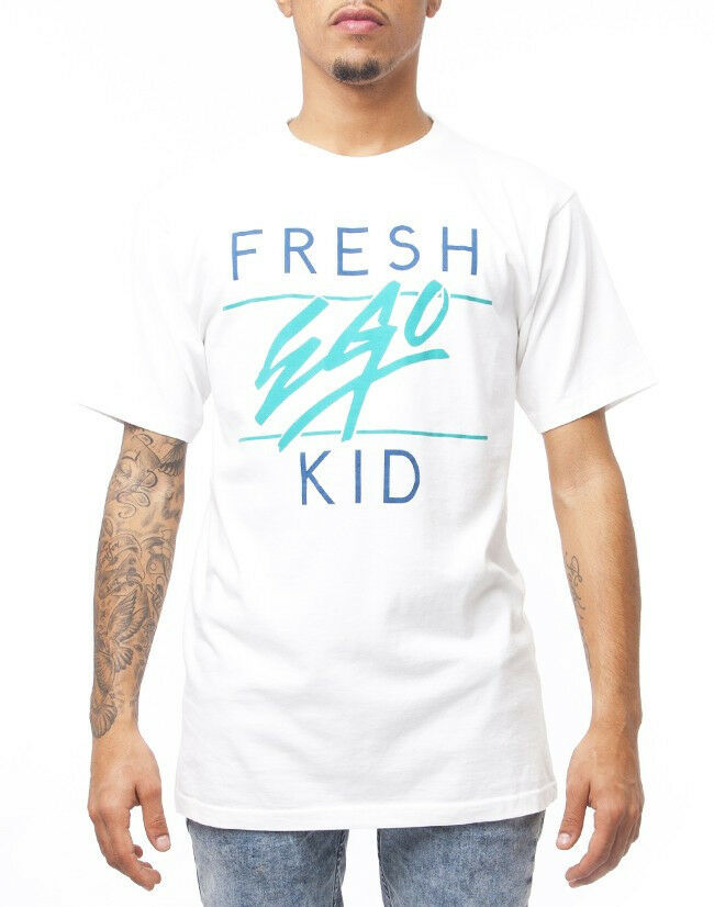 4be15108 Ego Kid FEK in Off White Fresh Tee npqvhk6357-T-Shirts