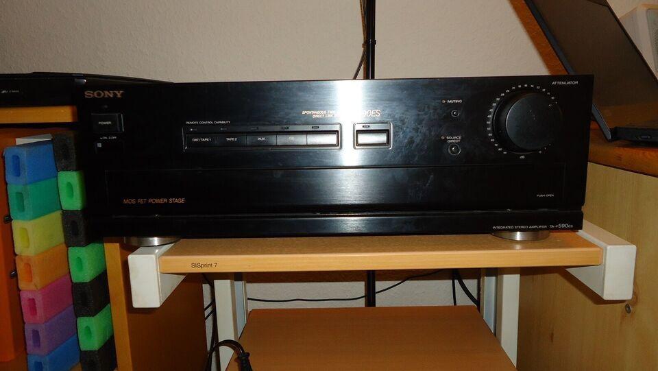 Forstærker, Sony, Sony TA-F590EX