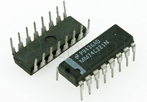 MM74C221N-Original-New-National-Integrated-Circuit-Replaces-NTE74C221