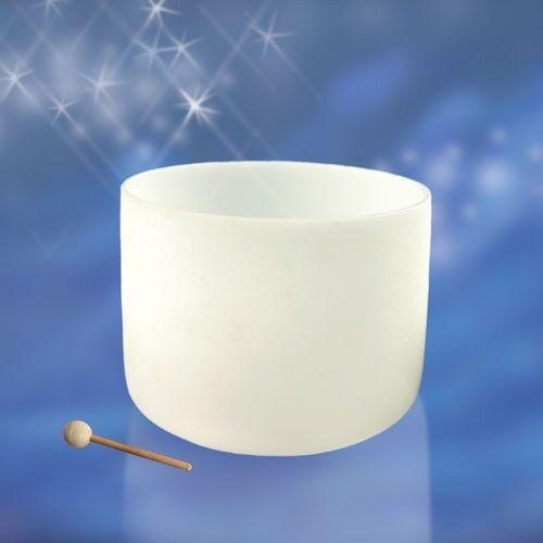 Kristallklangschale, 18 , weiß. 12,9kg