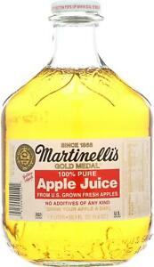 Martinelli S Sparkling Juice Apple And Grape Pack Of 6 50 7 Fz 41244001521 Ebay