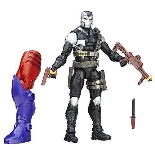 Marvel - legenden  captain america demolition man 6  - figur  rot skull - serie