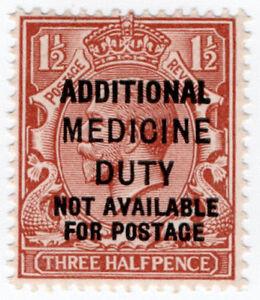 I-B-George-V-Revenue-Additional-Medicine-Duty-1-d