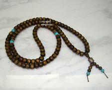 Feng Shui - 8mm Rondelle Sandalwood 108 Mala Rosary for Meditation