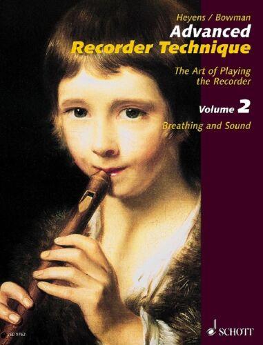 2 Heyens Gudrun method treble recorder 97900 Advanced Recorder Technique Vol
